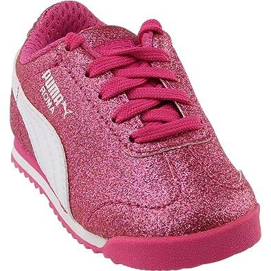 e98165be5c8 PUMA Womens Roma Glitz Glamm Infant Athletic   Sneakers Pink