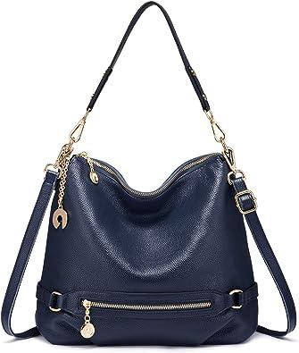 Vickcy The Things I Like Handbag,Women/'s Made Of Fine Leather Shoulder Tote Bag Fashion Big Capacity Crossbody.