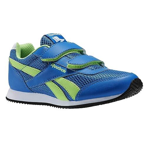 c49154176a03b0 Reebok Boys  Royal Cljog 2 2v Running Shoes Multicolour Size  1.5 UK ...