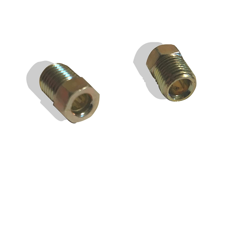 Pack of 15 ASD Brake Line Tube Nuts For 3//16 Tube 3//8-24 Thread, Inverted Flare