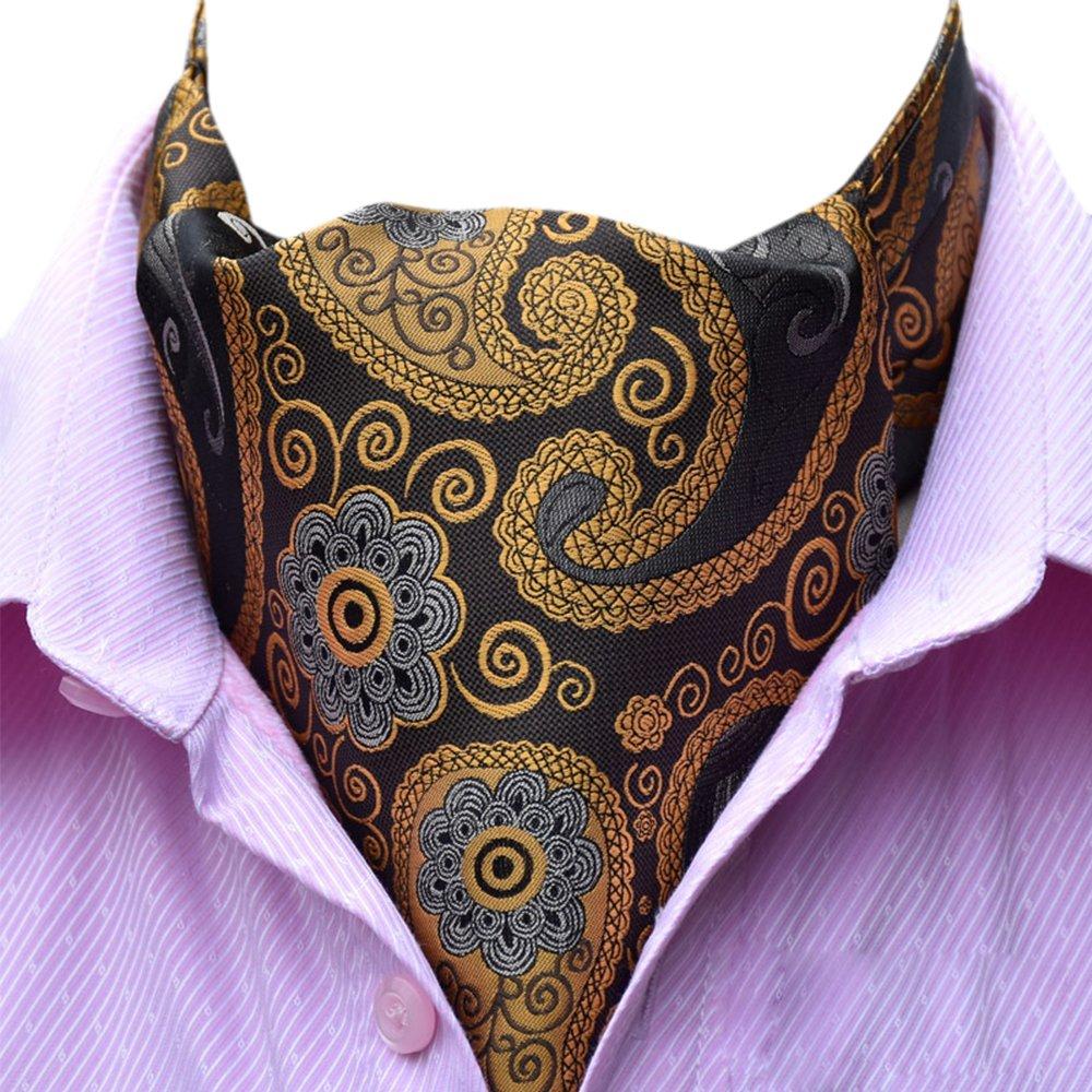 YCHENG Uomo Foulard Classico Da Cravatte Di Lusso In Seta E Fiore Modello Papillon Affari Sciarpa 17YCHENG1120-03