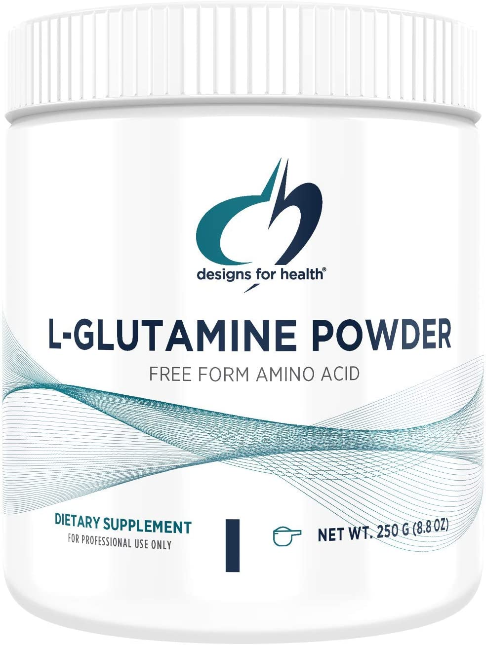 Designs for Health – L-Glutamine Powder, 250g