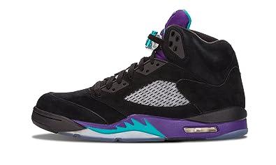 check out 583d5 b3e17 Nike Air Jordan 5 Retro  Black Grape  Trainer Size ...