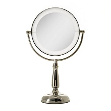 Amazon zadro ultra bright dual sided led lighted vanity make zadro ultra bright dual sided led lighted vanity make up mirror with 1x 10x aloadofball Image collections