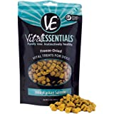 Vital Essentials Freeze-Dried Grain Free Crunchy Chicken Hearts Puppy or Dog Treats - All Breeds & Sizes - Fresh - Natural -
