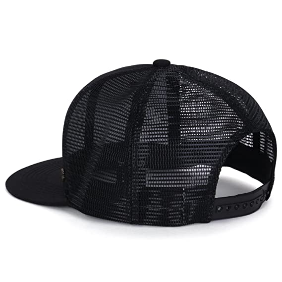 3173eb2f2d8 ililily Extra Large Size Solid Color Flat Bill Snapback Hat Blank Baseball  Cap