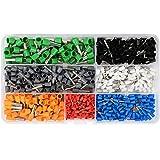 IDEALEBEN Embouts de Câble isolants 0,5–6,0 mm² 600 pièces dans 7 couleurs différentes …