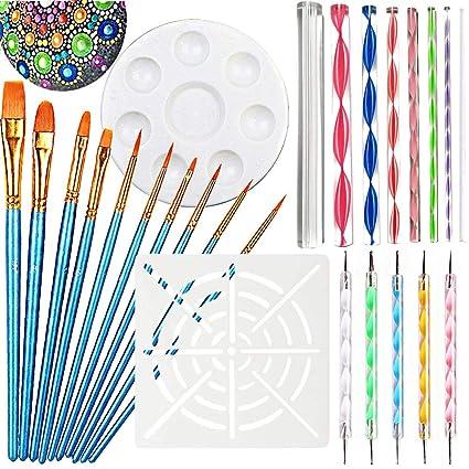 Amazon.com  Mandala Dotting Tools for Painting fd63b9a06