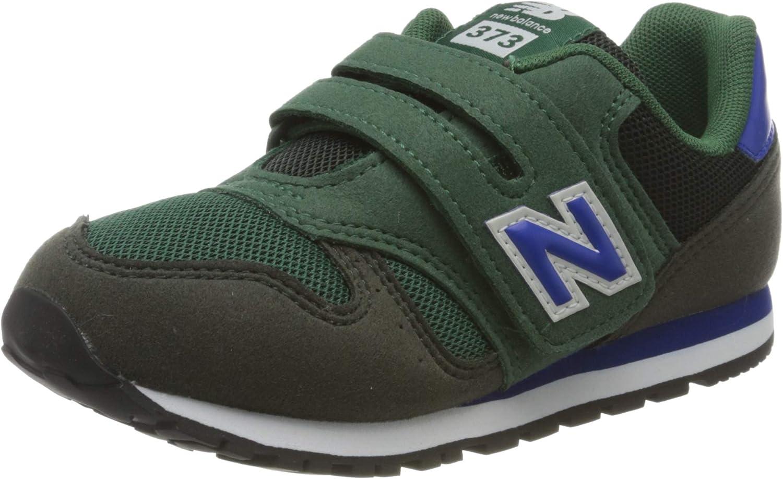 Boys' Shoes New Balance 373 Sneaker Bambino YV373KE Navy Green ...