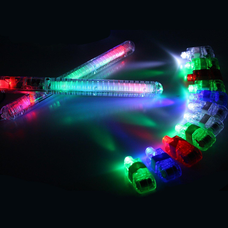 Amazon.com: 60 piezas Luz LED Toy Party Favor Party Pack ...