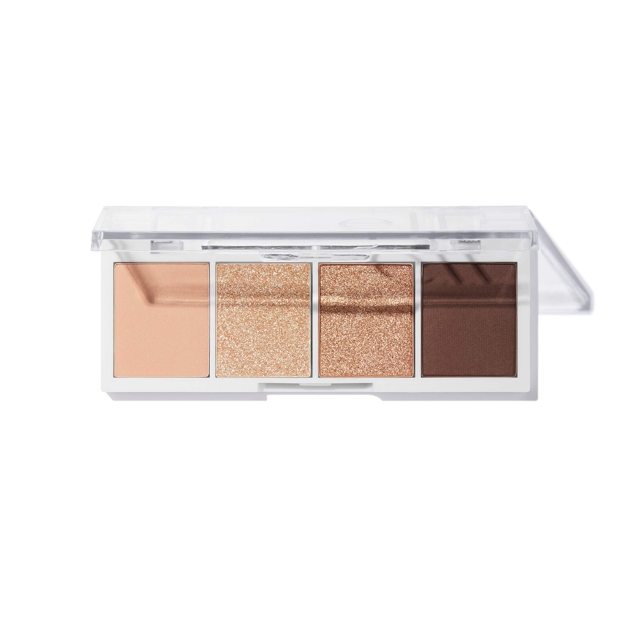 e.l.f, Bite-Size Eyeshadows, Creamy, Blendable, Ultra-Pigmented, Easy to Apply, Cream & Sugar, Matte & Shimmer, 0.12 Oz