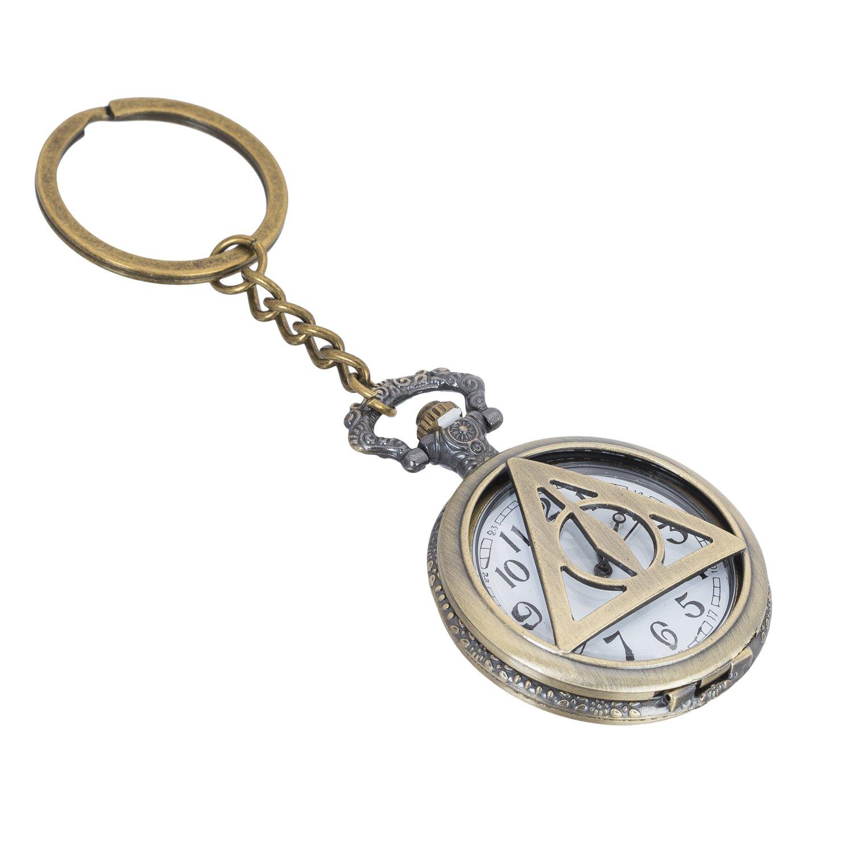 Gratitude Harry Potter Theme Pocket Watch Vintage Clock Metallic Key Chain  Amazon.in Bags b564ccce4