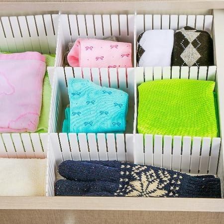 ... acabado armario de estantes para el hogar ordenado papelería maquillaje organizador de calcetines ropa interior bufandas: Amazon.es: Oficina y papelería