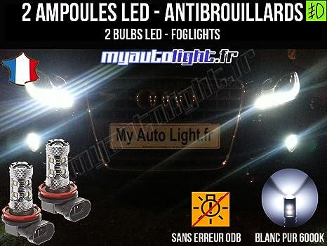 Bombillas LEDs antibrouillards para Audi A4 B8