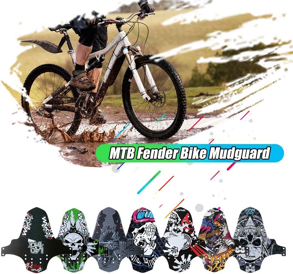 Lixada Frente Guardabarros de Bicicleta Ultradelgada, MTB ...