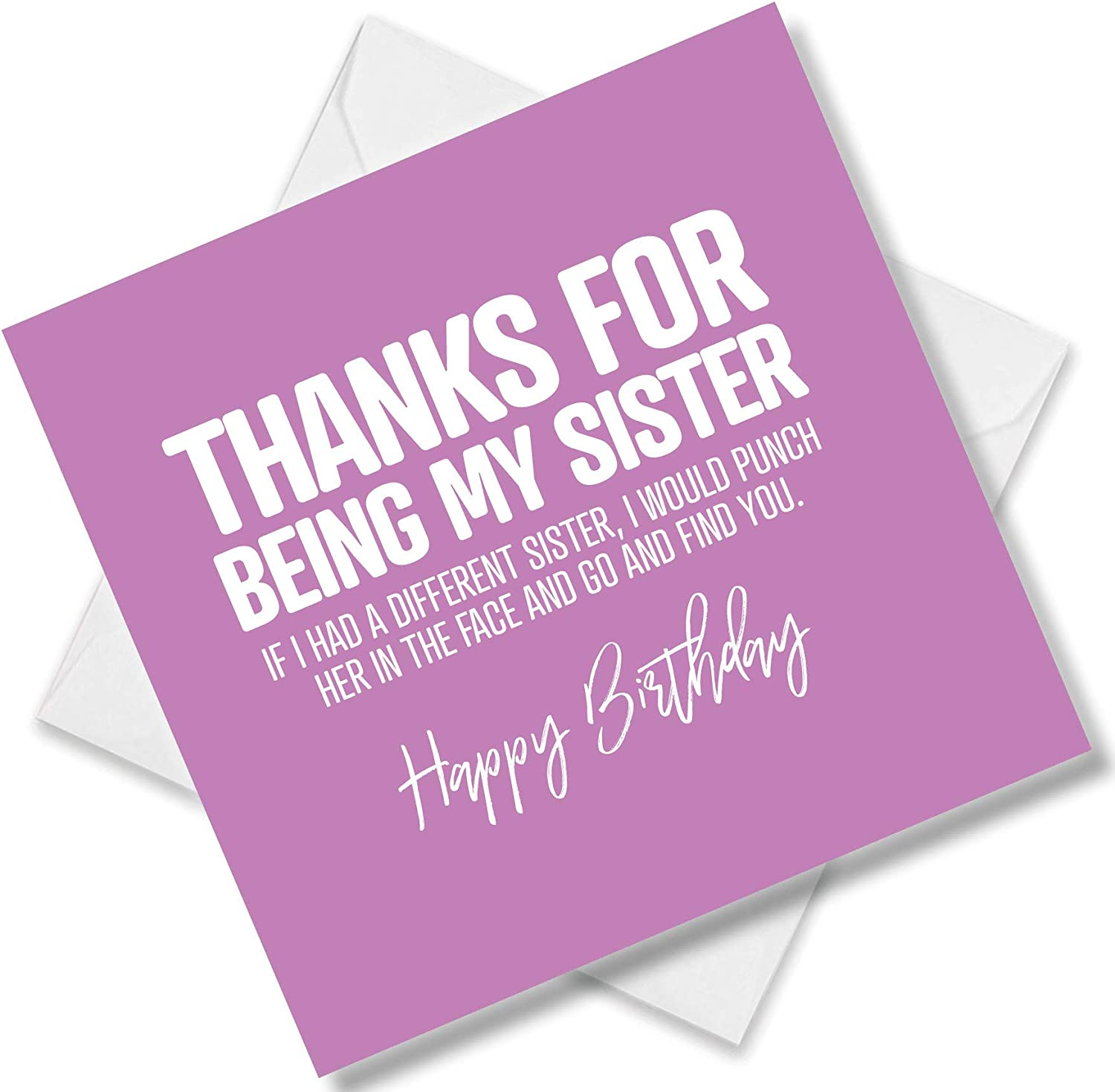 Funny Birthday Card For Women Her Perfect For Best Friend Sister Daughter Ebay