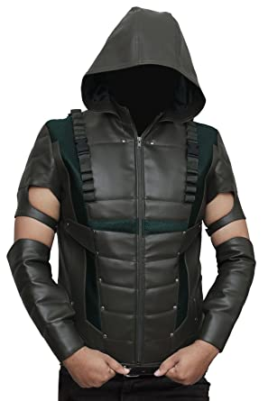 Stephen Amell Green Arrow Jacket At Amazon Mens Clothing Store