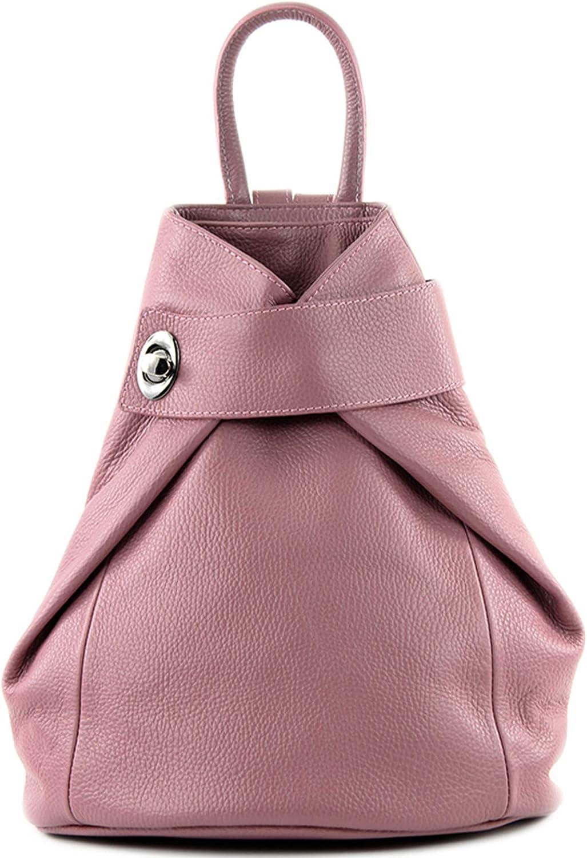 modamoda de - T179 - mochila de mujer de piel italiana