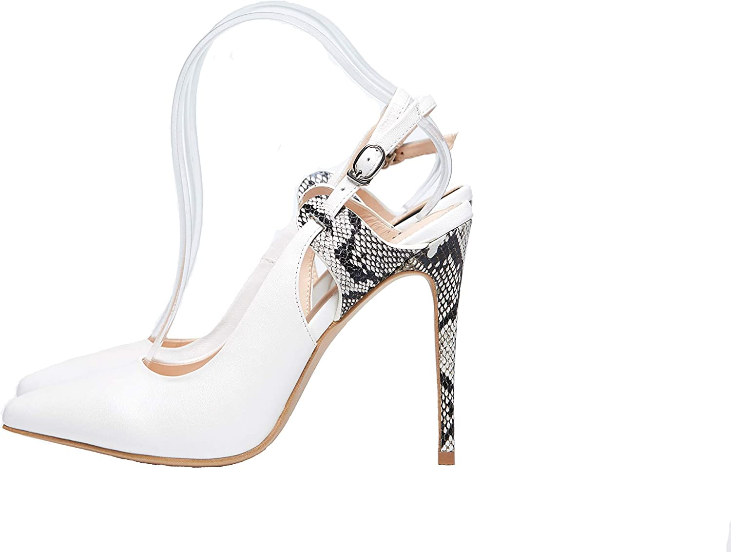 brand new hot sales many styles Amazon.com: Bizare JADA Classy White|High Pointed|Court Shoes: Shoes