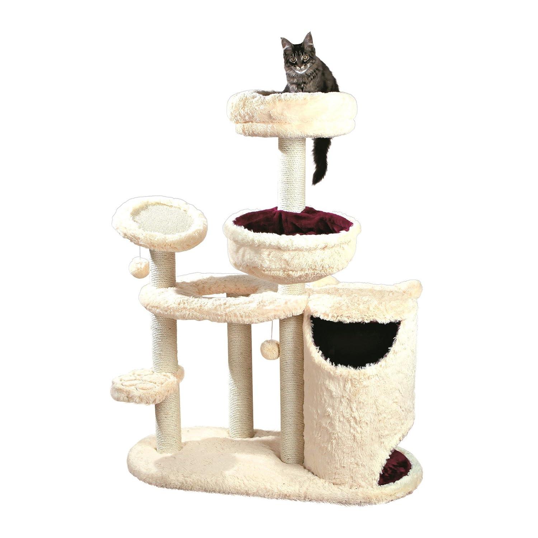 Trixie Pet Products Marta Cat Playground, Beige Bordeaux