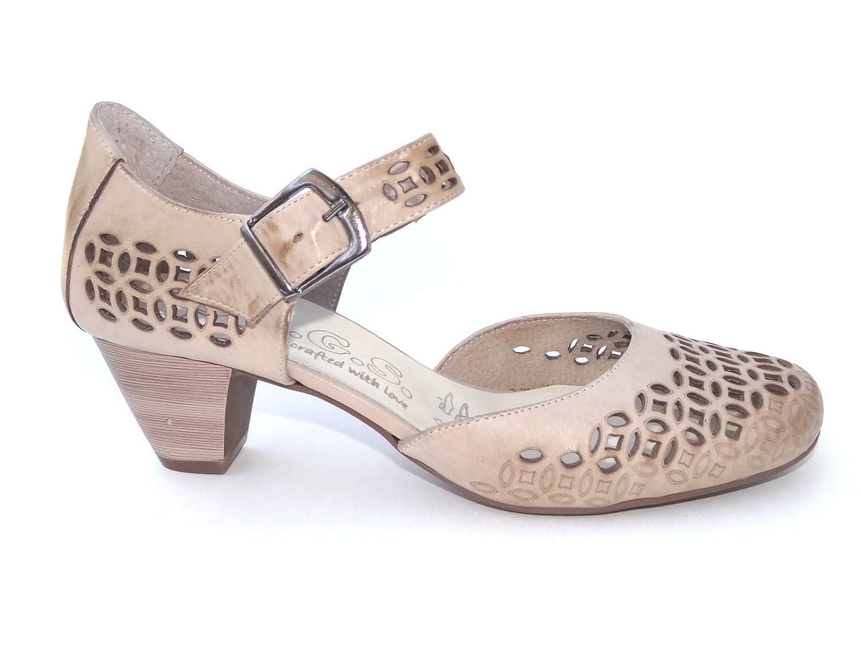 Ogswideshoes Donatella Beige Extra Wide Fit Sandal ,C D Width, 3e Width B0184SF5NG 8 3E US
