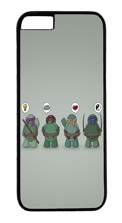 Carcasa iphone 6 Plus - Dibujo Tortugas Ninjas Ying Yang ...