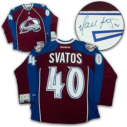 Marek Svatos Autographed Jersey - Reebok Premier - Autographed NHL ... c73138c96ec