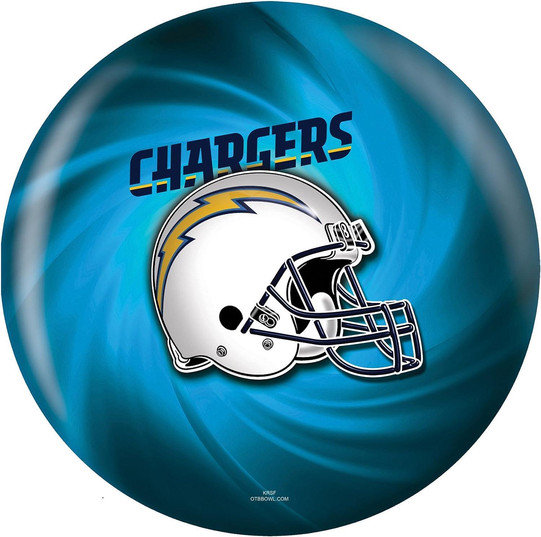 KR Strikeforce 2013 NFL ロサンゼルス チャージャーズ ボーリングボール ネイビー/ゴールド/パウダーブルー 8ポンド