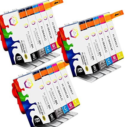 ColorFish 364XL Cartuchos de Tinta Reemplazo Para HP 364 ...