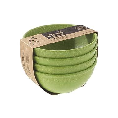 EVO Sustainable Goods 16 oz. Bowl Set, Green