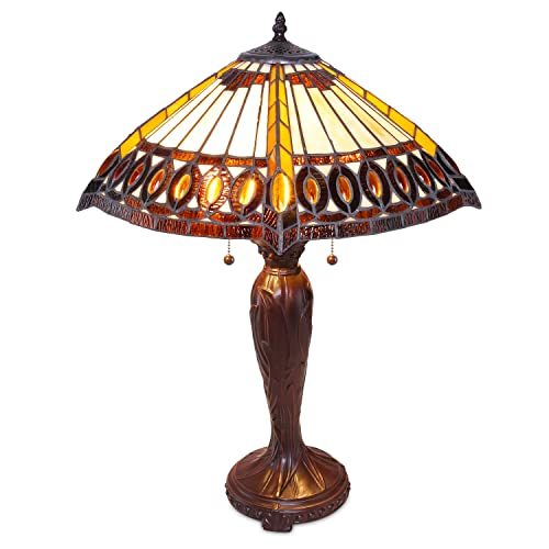 1908 Studios Amberjack Tiffany Table Lamp