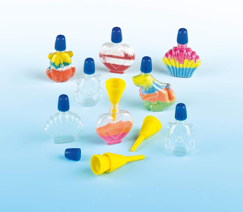 Botellas pequeñas de plástico en 4 diseños diferentes para decorar ...