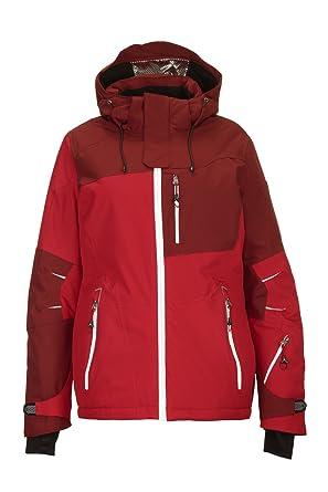 letzter Rabatt wie man serch elegante Form Killtec Damen Luira Skijacke / Snowboardjacke / Funktionsjacke mit  abzippbarer Kapuze und Schneefang