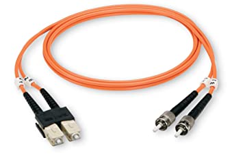 Black Box EFN110-003M-STST 3m ST ST Naranja cable de fibra optica -