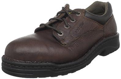 b441772414b8 Amazon.com  Wolverine Exert DuraShocks Steel-Toe EH Opanka Work Shoe ...