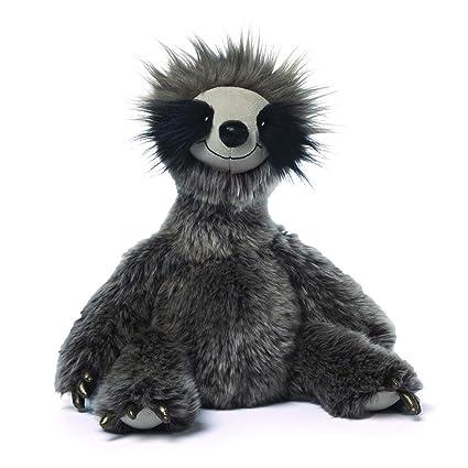 Amazon Com Gund Roswel Sloth Stuffed Animal Plush Dark Gray 15