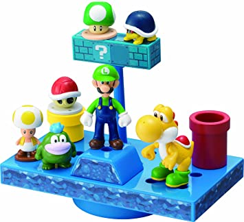 NEW Super Mario Bros. Wii balance underground world stage (japan import): Amazon.es: Juguetes y juegos