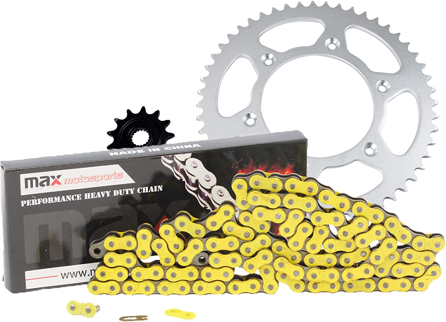 Primary Drive Steel Kit /& 428 C Chain for Honda XR100R 1990-2003