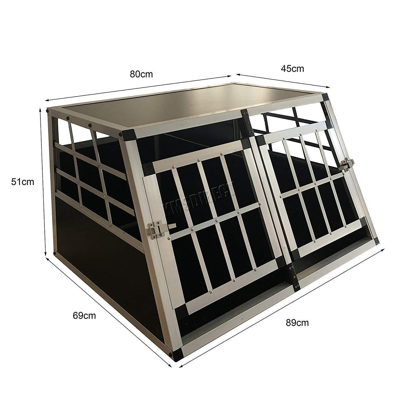 Portaequipajes de Aluminio para Transporte de Perros, tamaño XXL ...