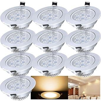 Hengda® LED Einbauleuchte Spot Decken Einbaustrahler Set ...