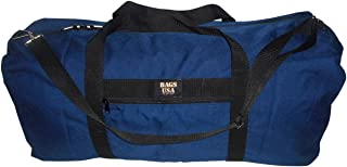 product image for BAGS USA Extra Large Eagle Duffle Bag,tough 1000 Denier Cordura Made in U.s.a. (Navy)