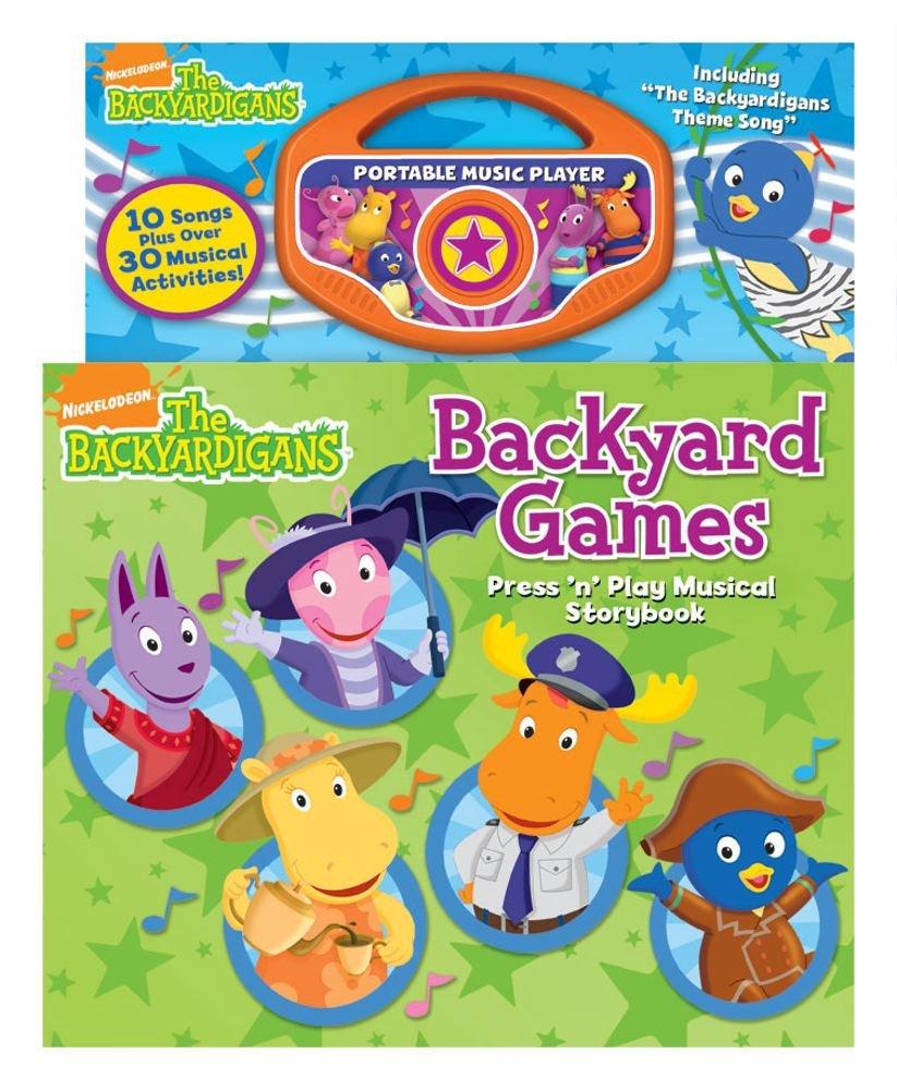 The Backyardigans Backyard Games Readers Digest Amazon Books