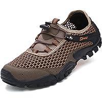 FeO DvKe 铁公爵 男士户外透气网布鞋 登山鞋 网鞋男 运动鞋 舒适橡胶软底 SDX45-1808V