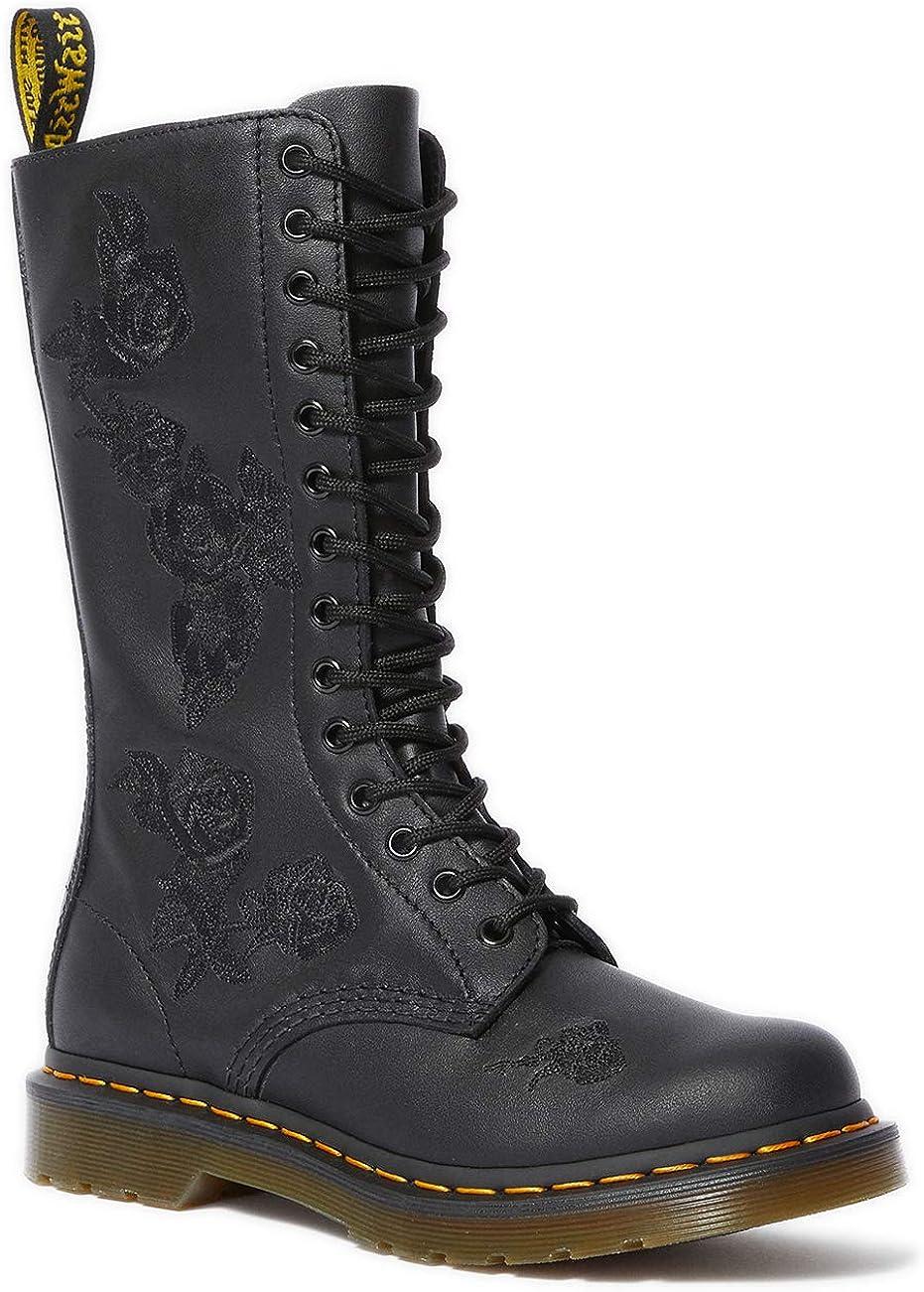 Dr. Martens 1914 Vonda Mono Softy T Boots Women Black Boots Shoes
