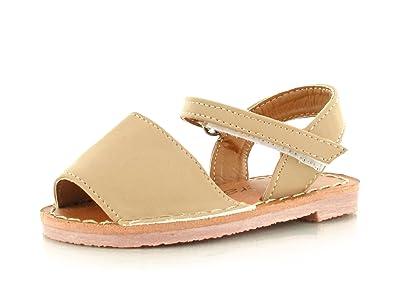 42115c5580af Chockers Shoes® Girls Kids Childrens Toddler Slip On Mule Slider flip Flop  Peep Toe Two Part Ankle Strap Flat Sandal Glitter Nubuck Sparkle Diamante   ...