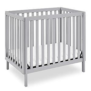 Delta Children Gio Mini Crib with 2.75