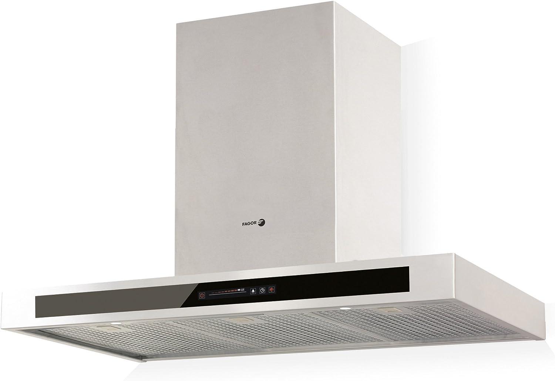 Fagor CFB-9000AVXA - Campana decorativa 90cm inoxidable clase de eficiencia energetica a: 313.39: Amazon.es: Hogar