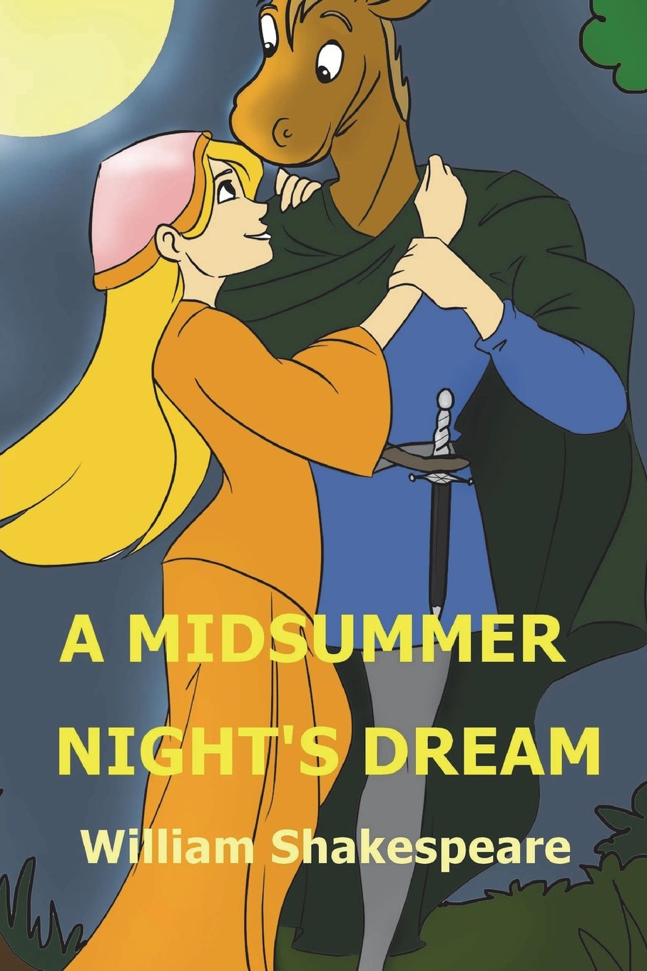 Read Online A Midsummer Night's Dream: Shakespeare's Comedy of A Midsummer-night's Dream pdf