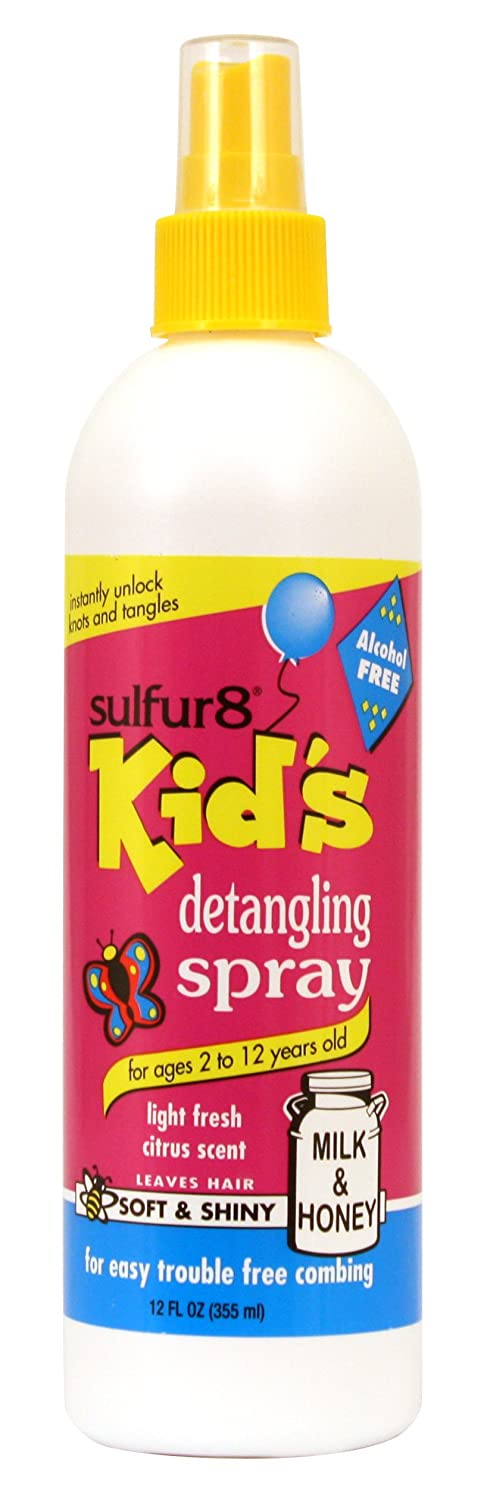 Sulfur-8 Kids Detangling Spray 12 oz. Sulfur8