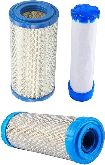 5 Air Filters Combos For Kawasaki 11013-7029 Kohler 25 083 02-S